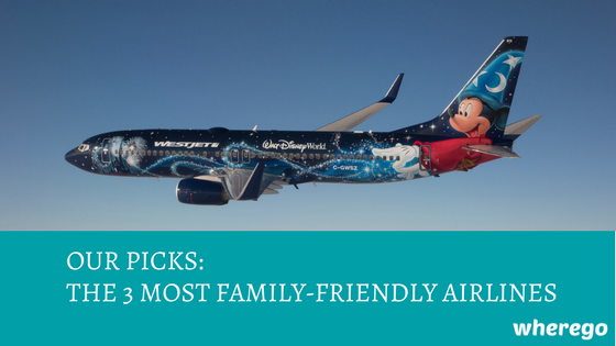 Our Picks: The 3 Most Family-Friendly Airlines